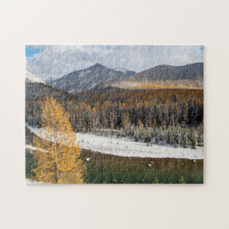 The Middle Fork Of The Flathead River Jigsaw Puzzle
