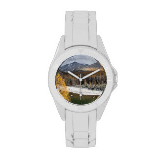 The Middle Fork Of The Flathead River Wrist Watches