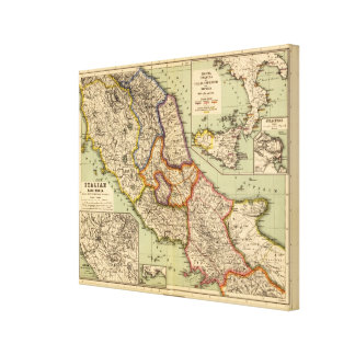 The middle part of Italy Canvas Print