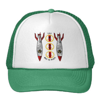 The Middle Way to Peace Trucker Hat