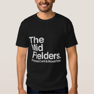 The Midfielders Pinoe & Carli & Moe & Tobin Mens T T-Shirt