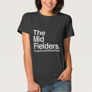 The Midfielders Pinoe & Carli & Moe & Tobin Shirt