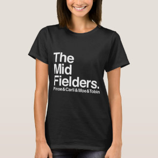 The Midfielders Pinoe & Carli & Moe & Tobin Shirt