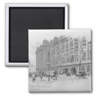 The Midland Hotel, Manchester, c.1910 Magnet