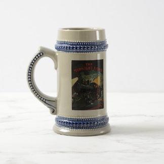 The Midnight Flyer Train Stein Coffee Mug