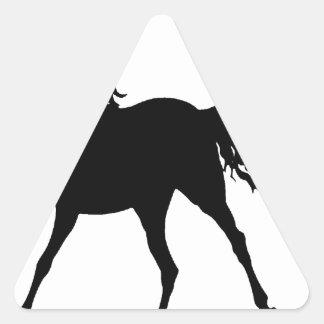 THE MIDNIGHT HORSE TRIANGLE STICKER