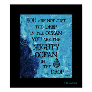 The Mighty Celtic Ocean Poster