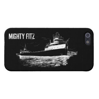 "The ""MIGHTY FITZ"" ~ SS Edmund Fitzgerald Freighter iPhone 5 Case"