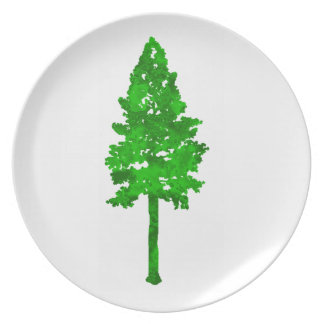 The Mighty Fortress Melamine Plate