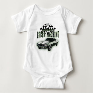 The Mighty Green Machine Baby Bodysuit