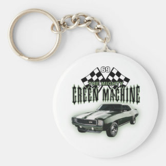 The Mighty Green Machine Keychain