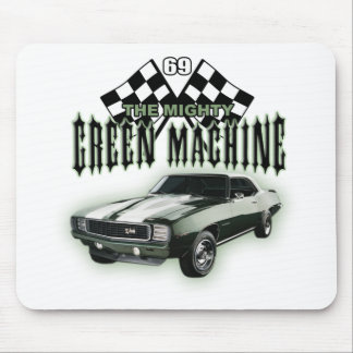 The Mighty Green Machine Mouse Pad