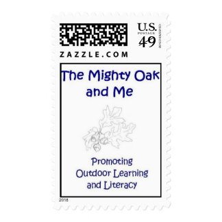 The Mighty Oak and Me Stamp