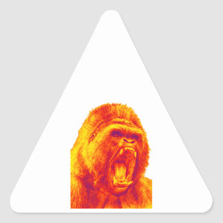 THE MIGHTY ONE TRIANGLE STICKER