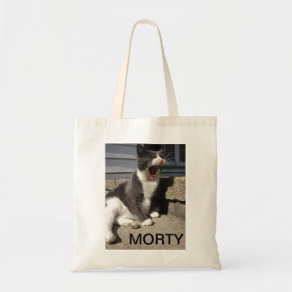 The Mighty Roar of MORTY Tote Bag