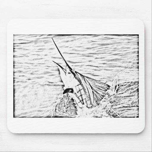 the mighty sailfish mousepads
