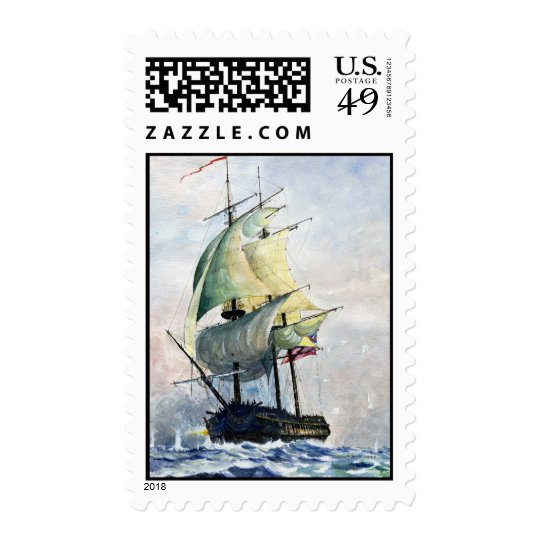 The Mighty Ship- stamps