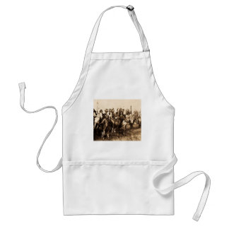 The Mighty Sioux Vintage Native American Warriors Adult Apron