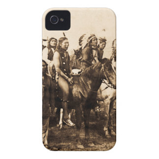 The Mighty Sioux Vintage Native American Warriors iPhone 4 Cases