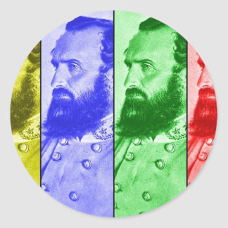 The Mighty Stonewall Classic Round Sticker