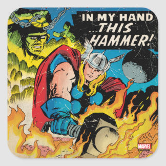 The Mighty Thor Comic #120 Square Sticker