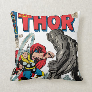 The Mighty Thor Comic #151 Throw Pillow