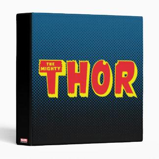The Mighty Thor Logo Binder