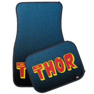 The Mighty Thor Logo Car Mat