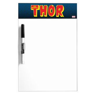 The Mighty Thor Logo Dry-Erase Board