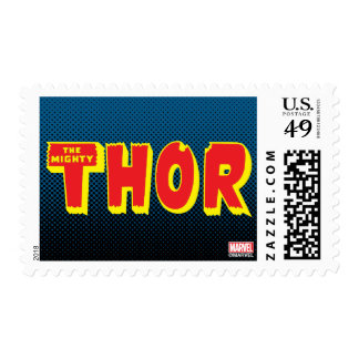 The Mighty Thor Logo Postage