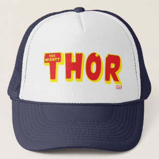 The Mighty Thor Logo Trucker Hat