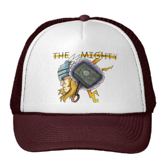 The Mighty Thor Tattoo Flash Trucker Hat