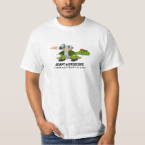 The Mighty Turtle: Adapt & Overcome T-Shirt