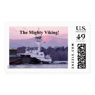 The Mighty Viking Postage Stamp