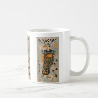 The Mikado, 'Pooh bah' Vintage Theater Coffee Mug