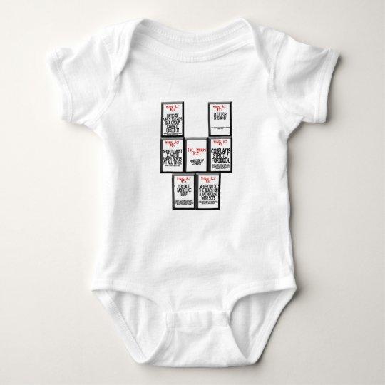 The Mikuru Acts Baby Bodysuit