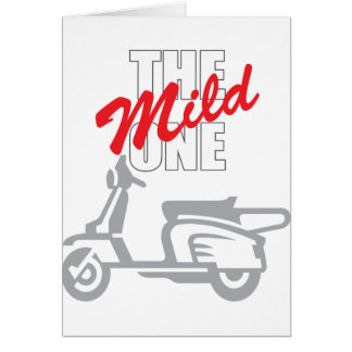 The Mild One Greeting Cards
