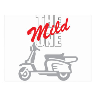 The Mild One Post Card