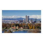 The Mile High City of Denver, Colorado Poster