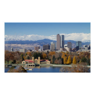 The Mile High City of Denver, Colorado Poster