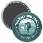 The Milford Track 3 Inch Round Magnet