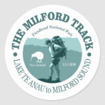The Milford Track Classic Round Sticker