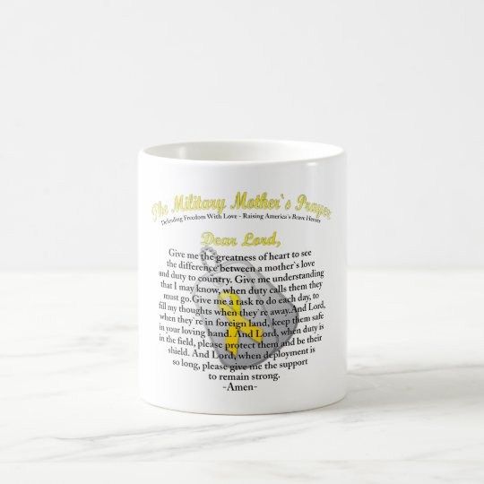 The Military Mother`s Prayer Coffee Mug