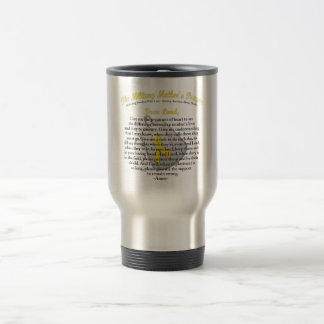 The Military Mother`s Prayer Travel Mug
