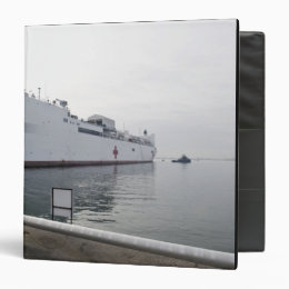 The Military Sealift Command hospital ship Binder