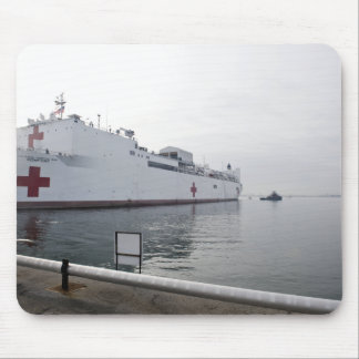 The Military Sealift Command hospital ship Mouse Pad