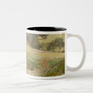 The Milkmaid, 1860 Two-Tone Coffee Mug