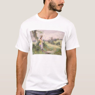 The Milkmaid, 1860 (w/c on paper) T-Shirt