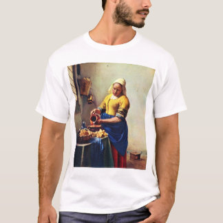 The Milkmaid [1]. By Johannes Vermeer T-Shirt