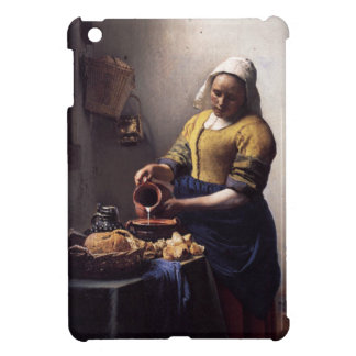 The Milkmaid by Johannes Vermeer Cover For The iPad Mini
